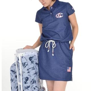 Champion - 新品 M champion golf wear ワンピース プロ使用モデル 紺