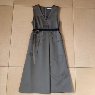ADORE - 希少☆2020SSアドーアリュクスコットンジャンパースカート