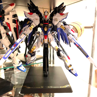 BANDAI - メタルビルド ストライクフリーダム SOUL BLUE Ver. 新品 光の翼+