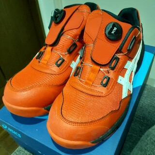 asics - 美品‼️アシックス安全靴 CP209 BOA 27.0cm レッド