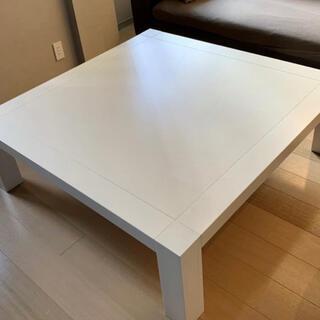 カッシーナ(Cassina)のカッシーナ Cassina ixc. カトリーヌメミ ローテーブル ホワイト(ローテーブル)