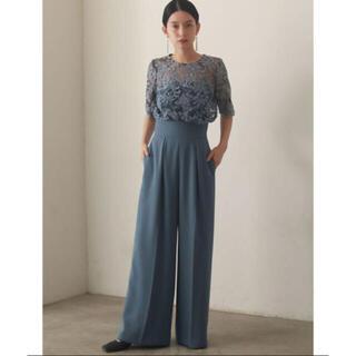 LagunaMoon - 新品 オーバーレースワイドパンツドレス