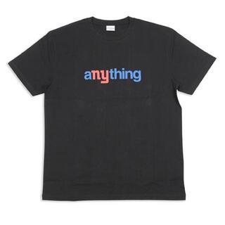 エニシング(aNYthing)のaNYthing SPEEDBALL LOGO TEE (BLACK)☆(Tシャツ/カットソー(半袖/袖なし))