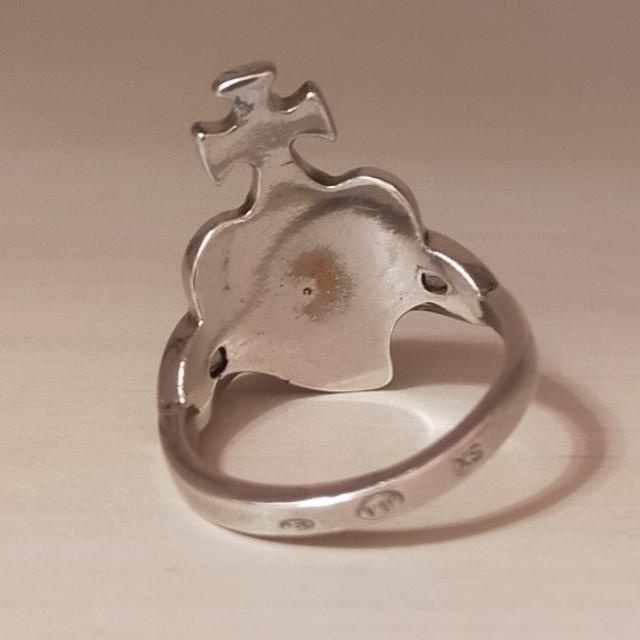 Vivienne Westwood(ヴィヴィアンウエストウッド)の【Vivienne Westwood】ディアマンテハートリング レディースのアクセサリー(リング(指輪))の商品写真