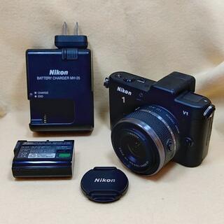 Nikon - ニコン ミラーレス一眼カメラ Nikon 1 V1 黒