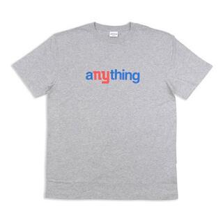 エニシング(aNYthing)のaNYthing SPEEDBALL LOGO TEE (GREY) ☆(Tシャツ/カットソー(半袖/袖なし))