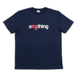エニシング(aNYthing)のaNYthing SPEEDBALL LOGO TEE (NAVY)☆(Tシャツ/カットソー(半袖/袖なし))