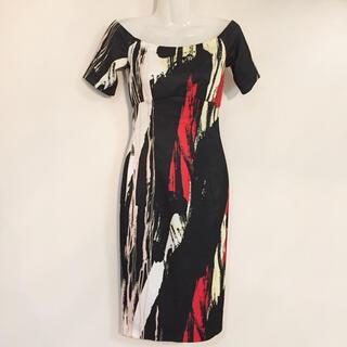 H&M - H&M ワンピース タイト 幾何学 タイトワンピース ドレス