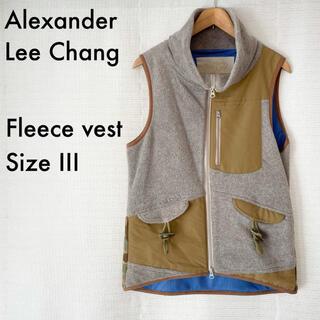 アレキサンダーリーチャン(AlexanderLeeChang)のAlexanderLeeChang フリースベスト 3(ベスト)