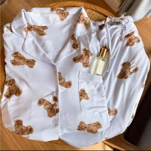 gelato pique(ジェラートピケ)のクマのルームウェア 上下セット レディースのルームウェア/パジャマ(ルームウェア)の商品写真