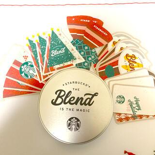 スターバックスコーヒー(Starbucks Coffee)のスターバックス ホリデーステッカー(しおり/ステッカー)
