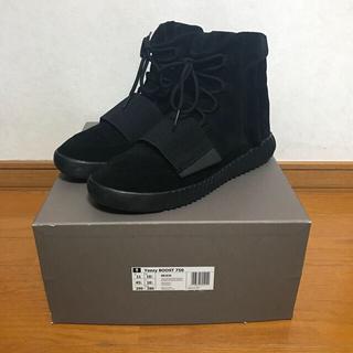 アディダス(adidas)のadidas YeezyBoost750 triple black 29cm(スニーカー)
