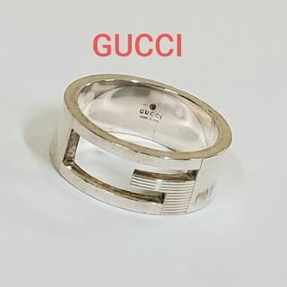 Gucci - GUCCI Gリング  シルバー 925 ブランデッド グッチ リング 指輪