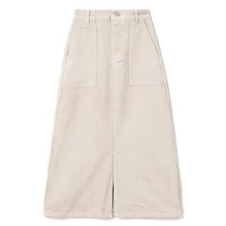 グレイル(GRL)のグレイル フロントスリットロングコーデュロイスカート (ロングスカート)