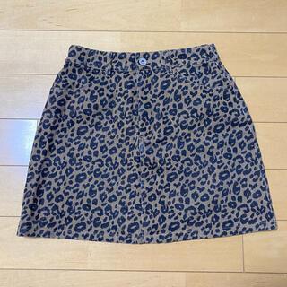 レオパード スカート apres jour(ミニスカート)