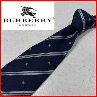 BURBERRY - バーバリー ロンドン Burberry London ネクタイ ストライプ