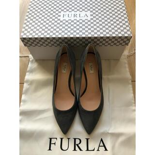 Furla - 【お値下げ!】新品!FULRA フルラスウェードパンプス