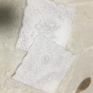 ミツコシ(三越)の豪華⭐️上品 スワトウ☆ハンカチ 2枚セット(ハンカチ)