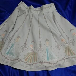 シークレットハニー(Secret Honey)の正規品 シークレットハニー ディズニー アナと雪の女王 スカート 戴冠式 (ミニスカート)