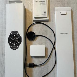 Galaxy - Galaxy Watch3 45mm Mystic Black 海外版