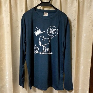 ピーナッツ(PEANUTS)の新品未使用ユルダボ3L サイズ スヌーピーのロングTシャツ(Tシャツ/カットソー(七分/長袖))
