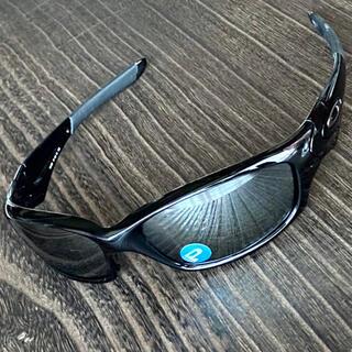 Oakley - ストレート ジャケット 偏光 ブラック ミラー オークリー サングラス 黒