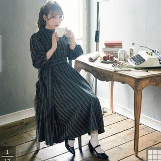 Maison de FLEUR - メゾンドフルール ニナのお茶会ワンピース グリーン M