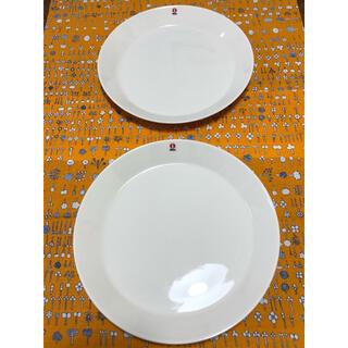 イッタラ(iittala)のイッタラ  ティーマプレート  ホワイト  2枚(食器)