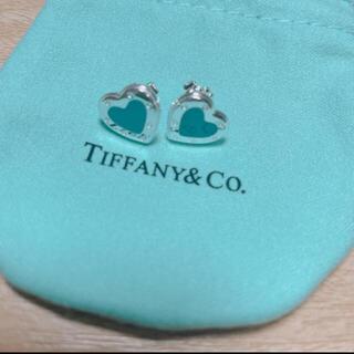 Tiffany & Co. - ティファニー ピアス ラブハート