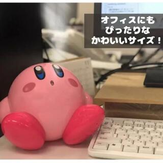 任天堂 - ①【星のカービィそのまんま超音波加湿器】フィギュア保湿USB電源カービー任天堂