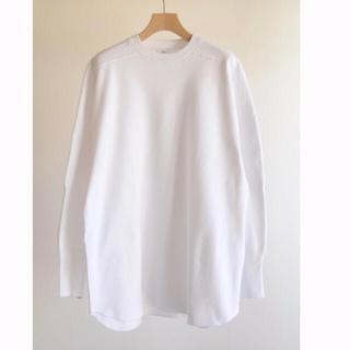 HYKE - HYKE/ビッグサーマルTシャツ 白 サイズ2