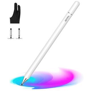 タッチペン 極細 スタイラスペン 高感度静電式ペン 磁気キャップ