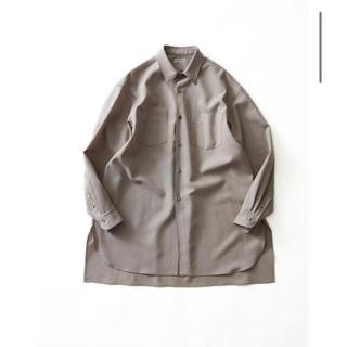 COMOLI - rakines 21ss ロングシャツ