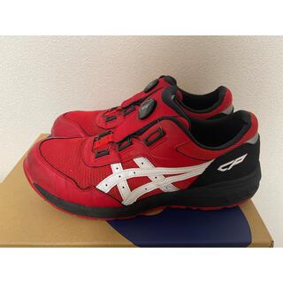 asics - アシックス 安全靴 CP209 boa レッド