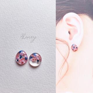 No.18-2  resin pierce earring
