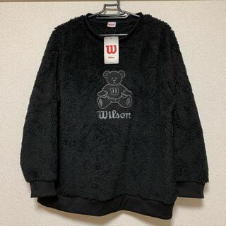 ウィルソン(wilson)の新品 wilson ボア フリース トレーナー 大きいサイズ(トレーナー/スウェット)