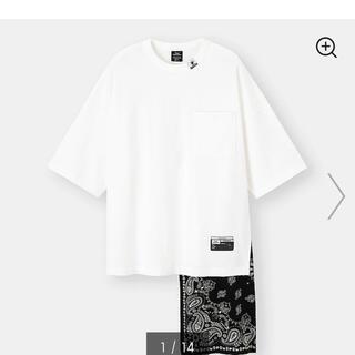 ミハラヤスヒロ(MIHARAYASUHIRO)の*今週末限定500円OFF*【GU×MIHARA】フハクコンビネーションT(Tシャツ/カットソー(半袖/袖なし))