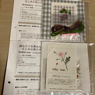 FELISSIMO - フェリシモ 青木和子 花と木の実のサンプラー 刺繍キット