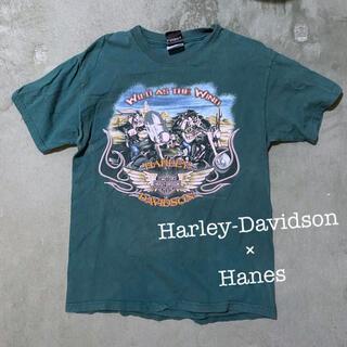 ヘインズ(Hanes)のハーレー×ヘインズ(Tシャツ/カットソー(半袖/袖なし))