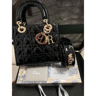 Dior - Dior レディーディオール ハンドバッグ カナージュ