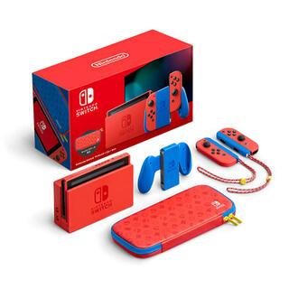 Nintendo Switch - Nintendo Switch マリオレッド ブルーセット