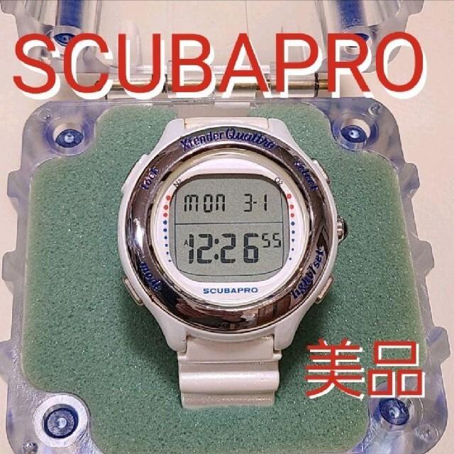 SCUBAPRO(スキューバプロ)のスキューバプロ エクステンダー クワトロ ダイブコンピューターダイビングクアトロ スポーツ/アウトドアのスポーツ/アウトドア その他(マリン/スイミング)の商品写真