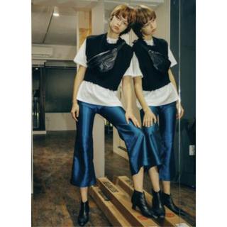 マルタンマルジェラ(Maison Martin Margiela)のPERVERZE Blight Ankle Pants blue(カジュアルパンツ)