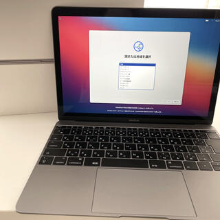 Apple - 【美品・放充電少】MacBook 12-inch 2017