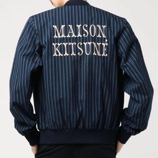 MAISON KITSUNE' - メゾンキツネ  STRIPES SEERSUCKER TEDDY