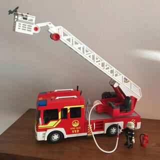 レゴ(Lego)のプレイモービル はしご消防車 5362(電車のおもちゃ/車)