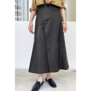 L'Appartement DEUXIEME CLASSE - 新品*アパルトモン RAW+ Leather Lap Skirt