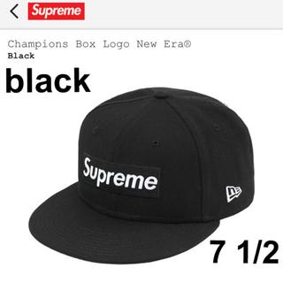 Supreme - supreme × NEW ERA Champions Box Logo cap