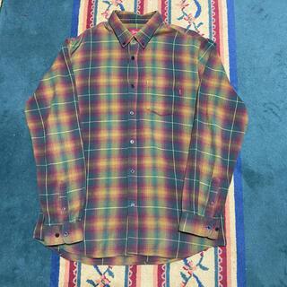 Supreme - supreme シュプリーム チェックシャツ ボタンダウンシャツ