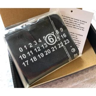 MM6 - 【MM6】メゾンマルタンマルジェラ▷ 財布 ウォレット ブラック ※正規品